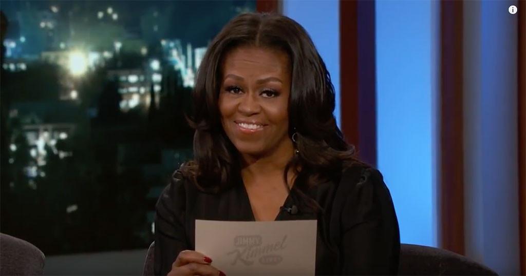 Michelle Obama, Jimmy Kimmel Live