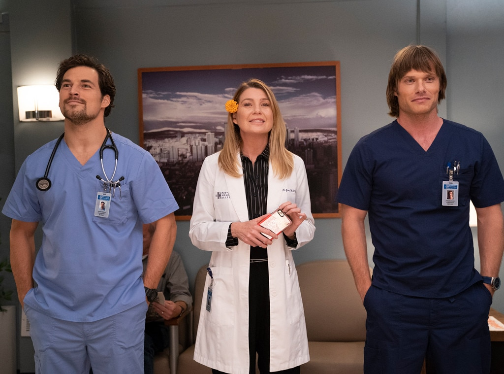 "DeLuca/Meredith/Lincoln -  With showrunner  Krista Vernoff  unofficially declaring season 15 the ""season of love,"" it was time for Meredith's love life to finally go back into overdrive. But who will she choose?"