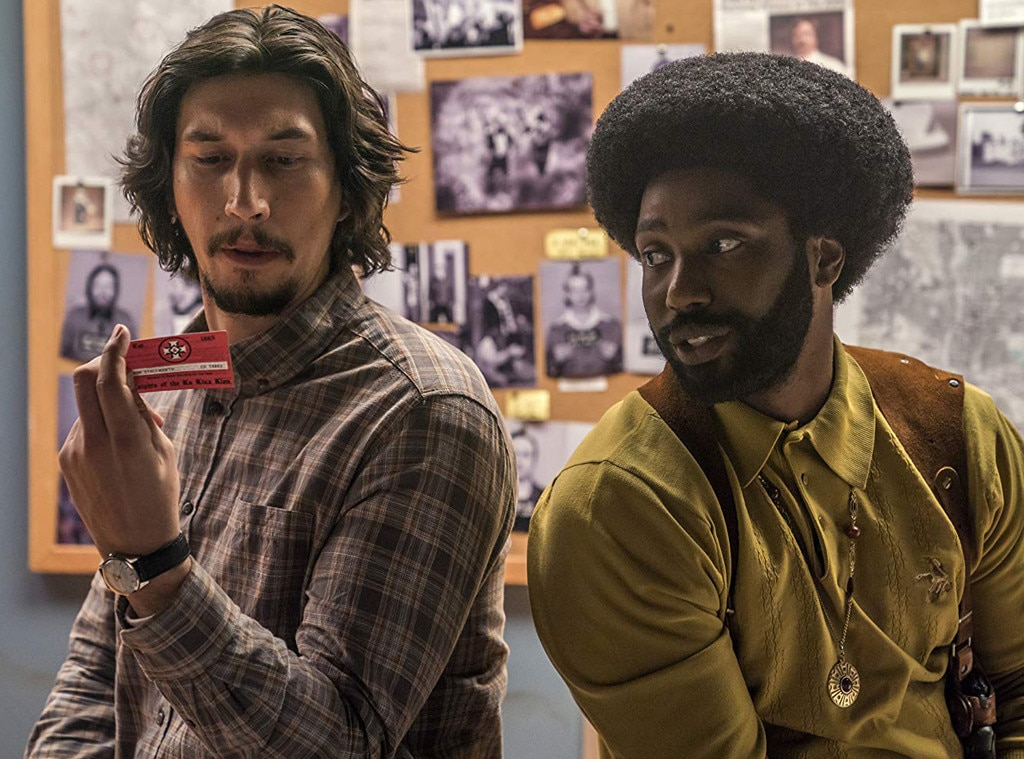 Adam Driver, John David Washington, BlacKkKlansman