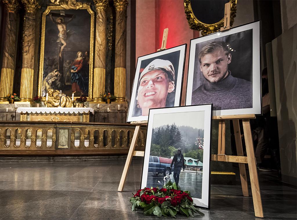 Resultado de imagen de avicii memorial service