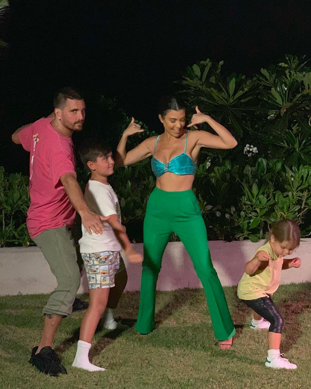 Kourtney Kardashian, Scott Disick, Mason Disick, Reign Disick, Bali, Vacation