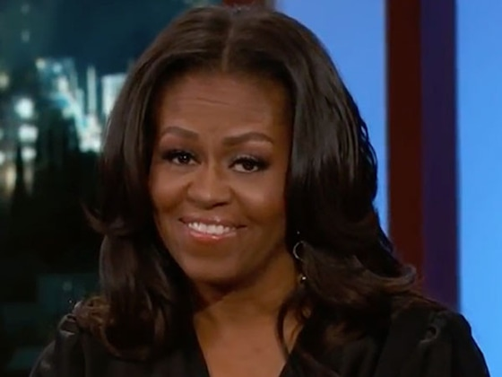 "Michelle Obama Jokes George Clooney Is Her ""Freebie"""