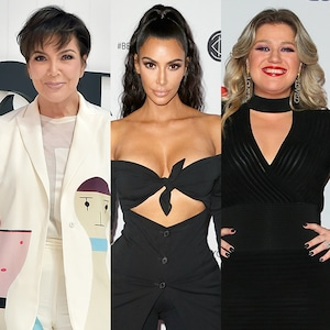 Kris Jenner, Kim Kardashian, Kelly Clarkson