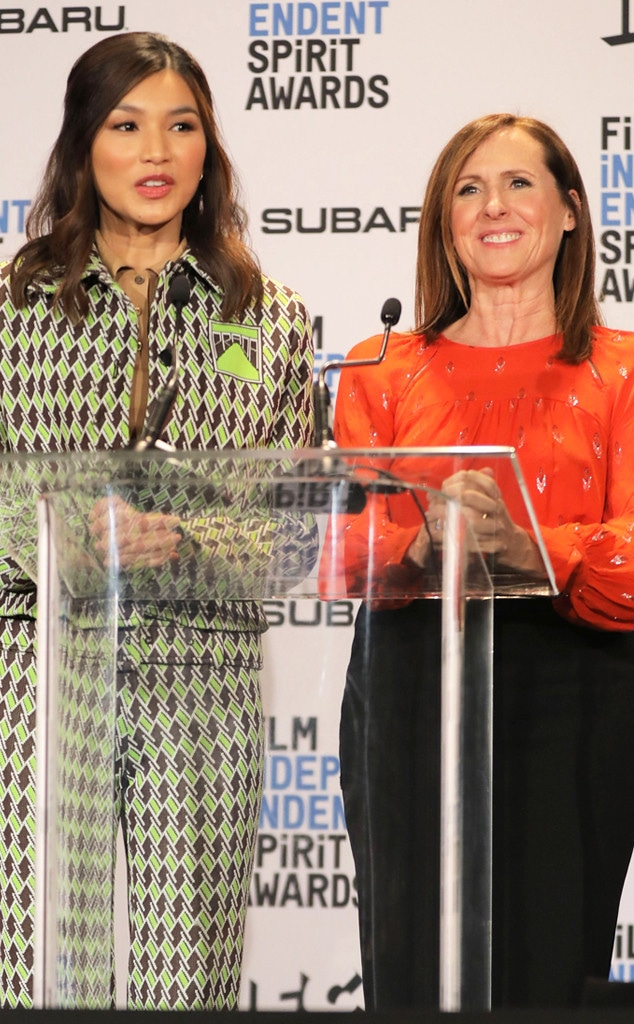 Gemma Chan, Molly Shannon, Film Independent Spirit Awards Nominations Press Conference