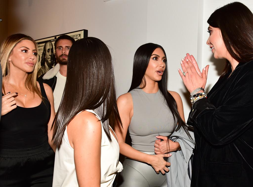 Larsa Pippen, Larsa Younan, Scott Disick, Kourtney Kardashian, Kim Kardashian, Brittny Gastineau
