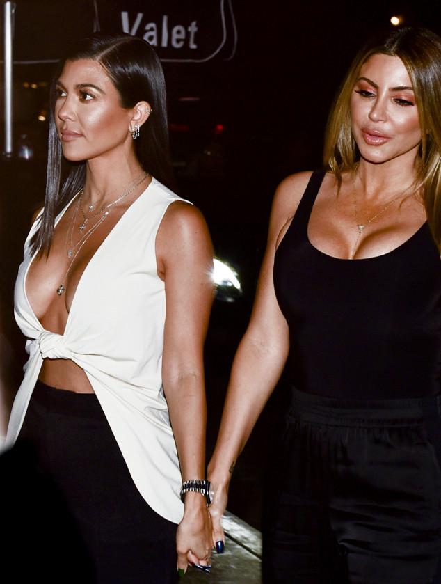 Larsa Pippen, Kourtney Kardashian