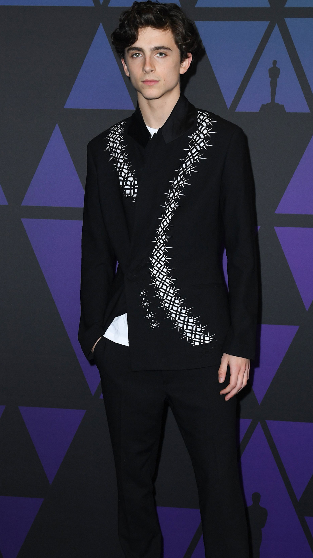 Timothee Chalamet, 2019 Governor's Awards