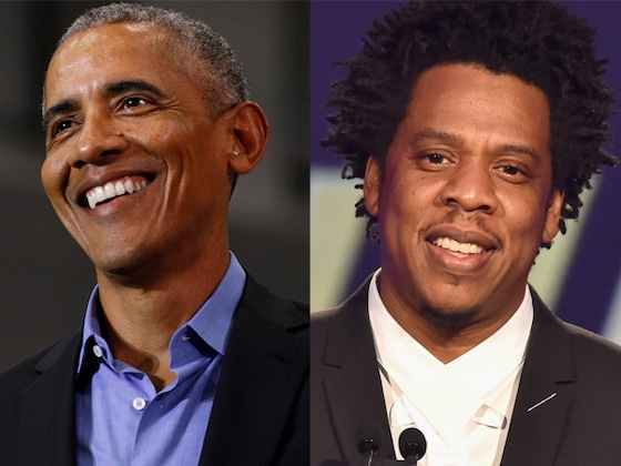Barack Obama Compares Himself to Jay-Z After Surprising Wife Michelle at Book Event