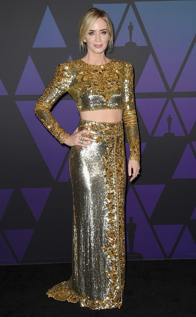 Emily Blunt, 2019 Governors Awards
