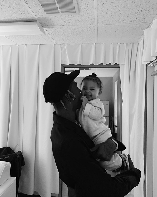 Kylie Jenner, Travis Scott, Stormi Webster, Astroworld Festival