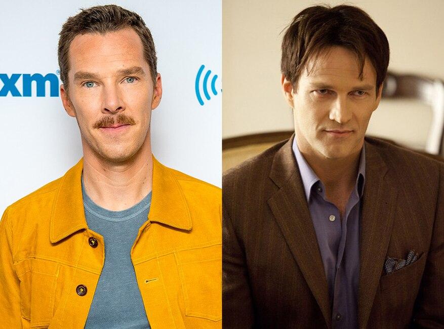 Benedict Cumberbatch, Stephen Moyer, True Blood