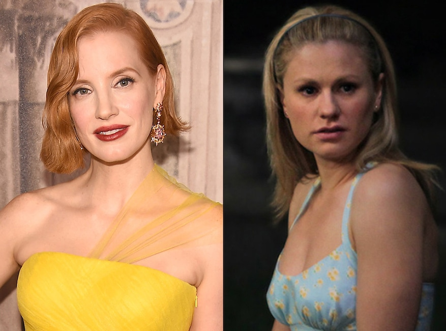Jessica Chastain, Anna Paquin, True Blood