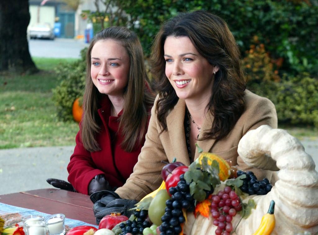 Gilmore Girls, Thanksgiving, Alexis Bledel, Lauren Graham