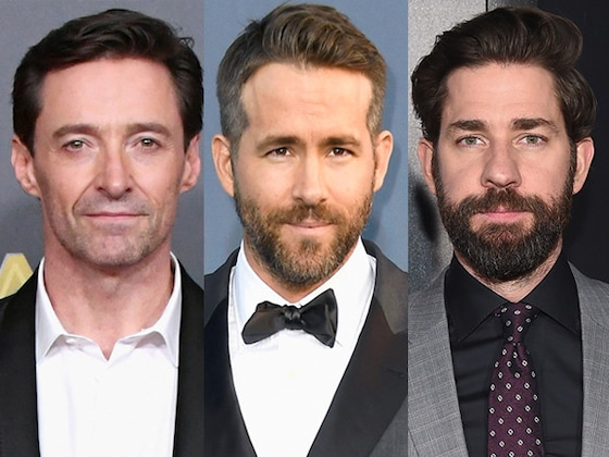 Ryan Reynolds and John Krasinski Team Up to Roast Hugh Jackman
