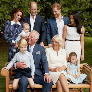 Prince Charles, Prince Louis, Kate Middleton, Prince William, Prince Harry, Meghan Markle, Camila, Princess Charlotte, Prince George