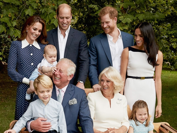 Prince Louis Can't Be Tamed in New Royal Family Portraits