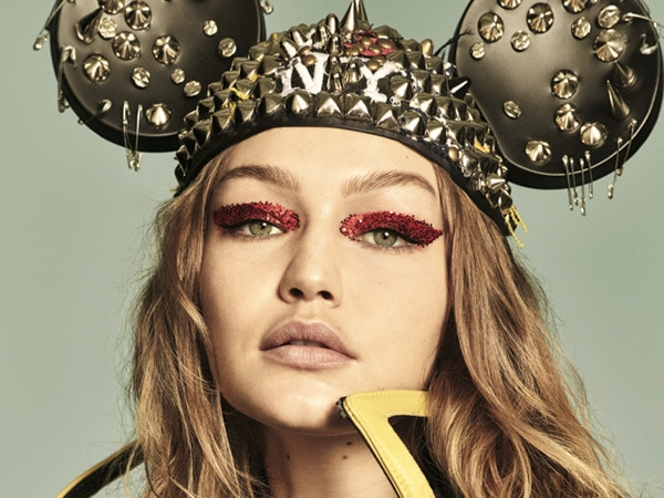 Gigi Hadid and Bella Hadid's Homage to Mickey Mouse Is Trés Chic