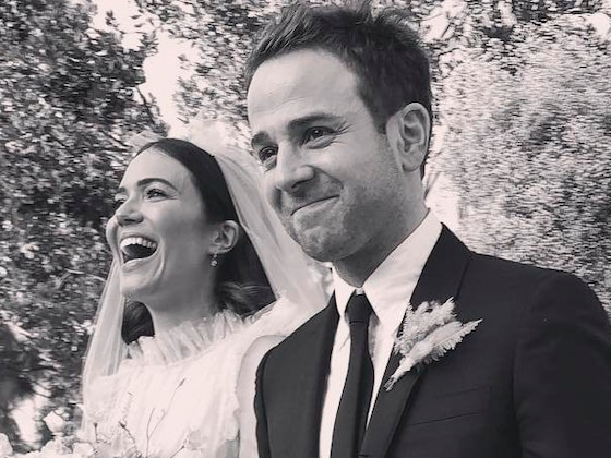 Mandy Moore Performing at Her Wedding Reception Is Bride Goals