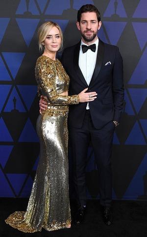Emily Blunt, John Krasinski, 2018 Governors Awards Arrivals