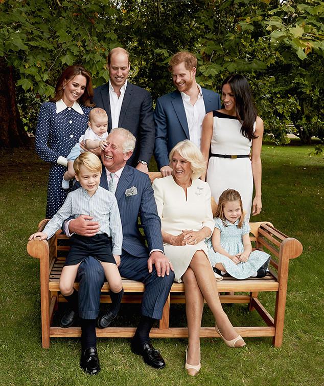 Prince Charles, Prince Louis, Kate Middleton, Prince William, Prince Harry, Meghan Markle, Camila, Princess Charlotte, Prince George