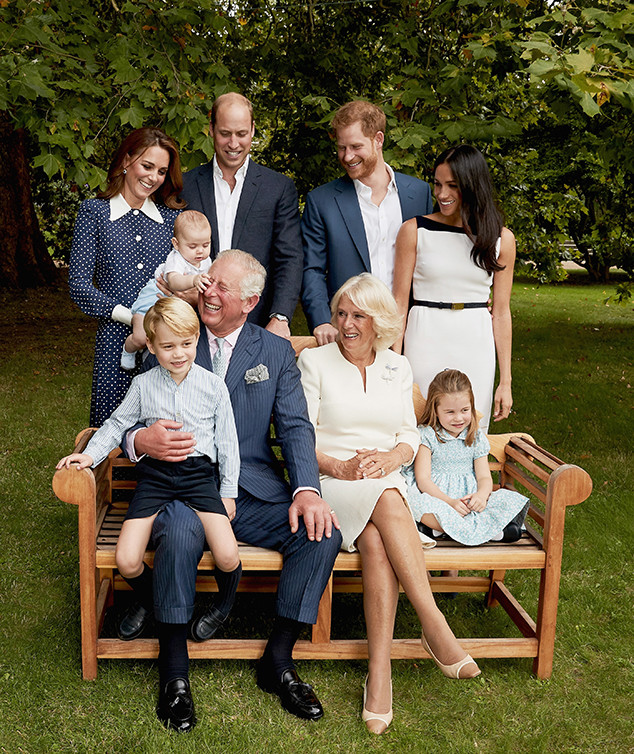 c60b19ba597e Prince Louis Can t Be Tamed in New Royal Family Portraits