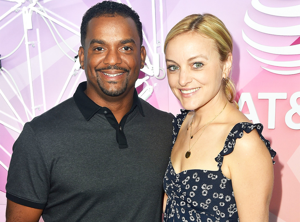 Alfonso Ribeiro and Wife Welcome Baby No. 3 — Find Out Her Adorable Name