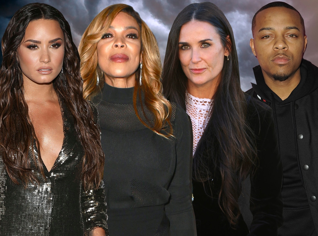 Celeb Addiction, Demi Moore, Demi Lovato, Bow Wow, Wendy Williams