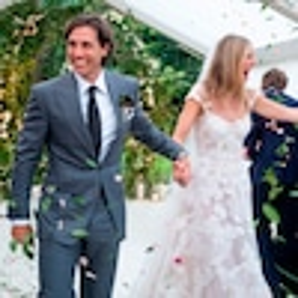 Brad Falchuk, Gwyneth Paltrow, Wedding