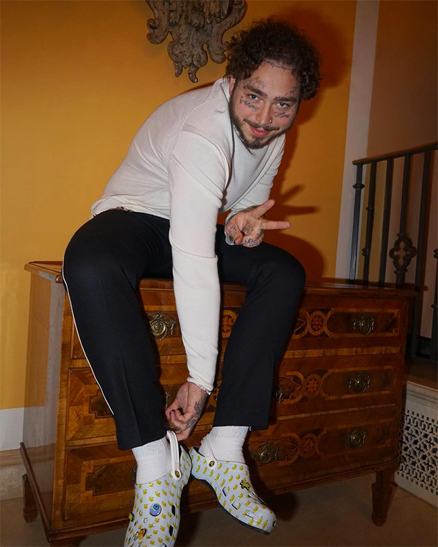 Post Malone, Crocs