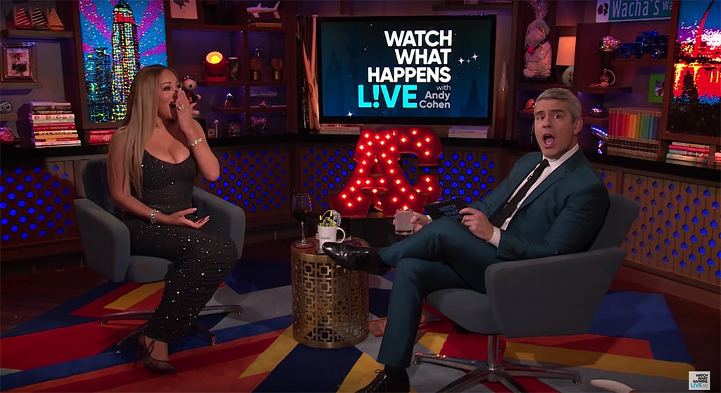 Mariah Carey Talks 'Mortifying' Meryl Streep Moment & Compliments Britney Spears on 'WWHL'