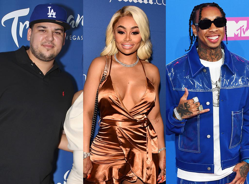 Rob Kardashian, Blac Chyna, Tyga