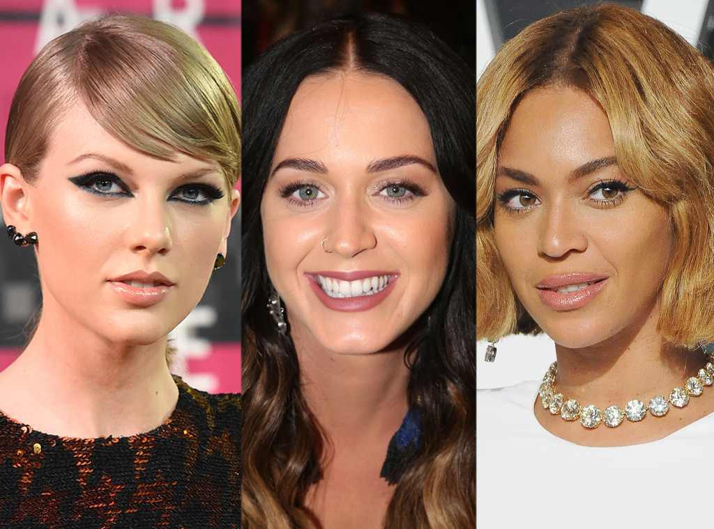 Beyonce, Taylor Swift, Katy Perry