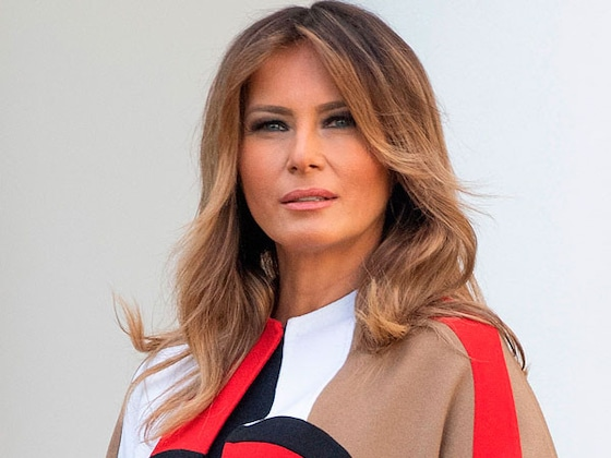 Melania Trump Makes a Bold Statement in Dior at White House Thanksgiving Turkey Pardoning
