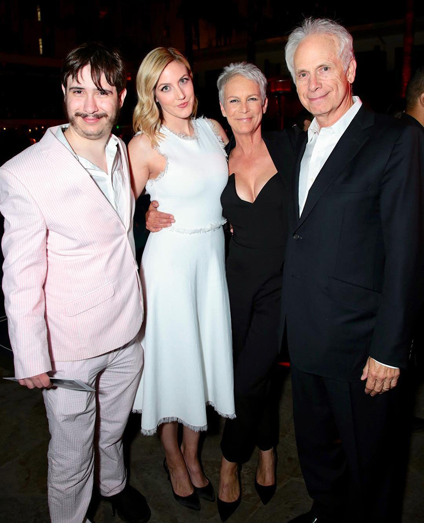 Jamie Lee Curtis, Christopher Guest, Annie Guest, Tom Guest, 2018