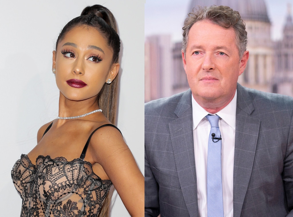 Ricky Gervais mocks Piers Morgan and Ariana Grande/Little Mix feud