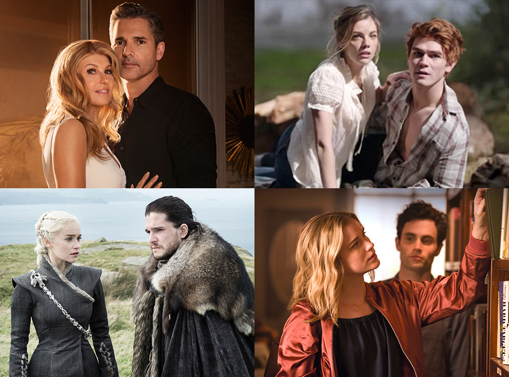 Dirty John, Riverdale, Game of Thrones, You, TV dating horror story