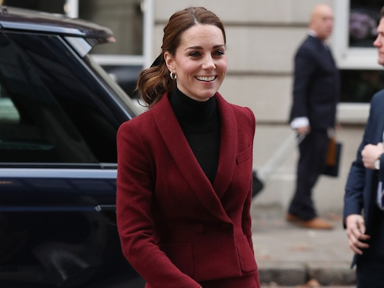 Kate Middleton's Latest Hairstyle Is the Perfect Holiday Look