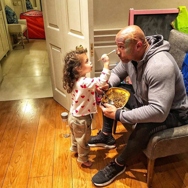 Dwayne Johnson Has A New Look Thanks To His Baby Girl E News
