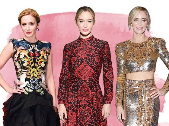 Emily Blunt's Style Is as Sweet as a Spoon Full of Sugar