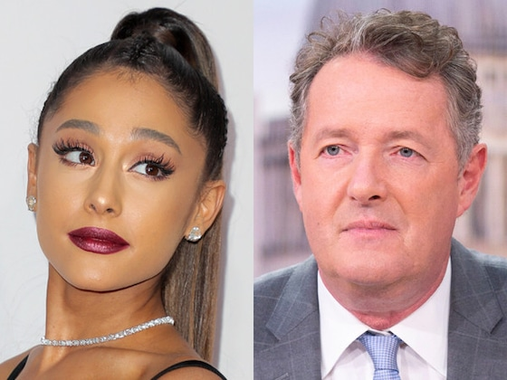 Piers Morgan Is in a Twitter War With Ariana Grande—and Her Mom!