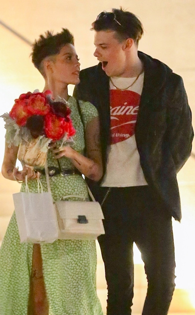Halsey Looks Totally Lovestruck While Out With British Musician