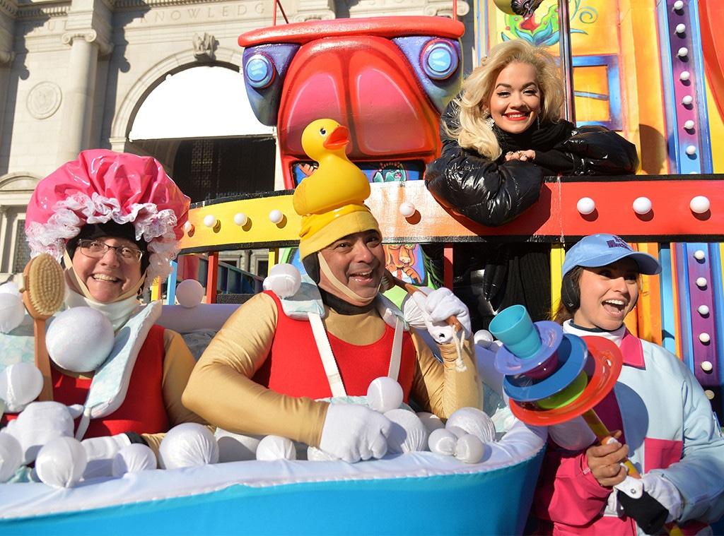 Rita Ora, 2018 Macy's Thanksgiving Day Parade