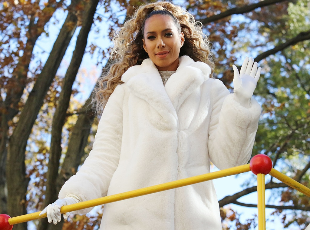 """Leona Lewis -  The British songbird wakes the crowd up with """"One More Sleep."""""""