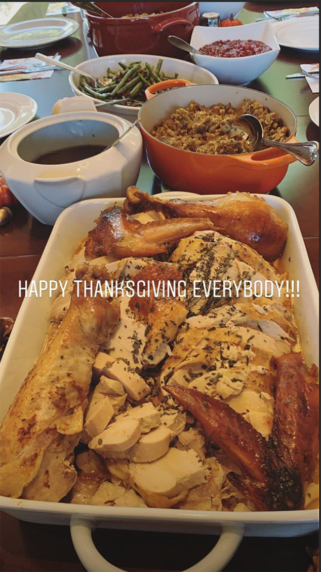 Demi Lovato, Thanksgiving