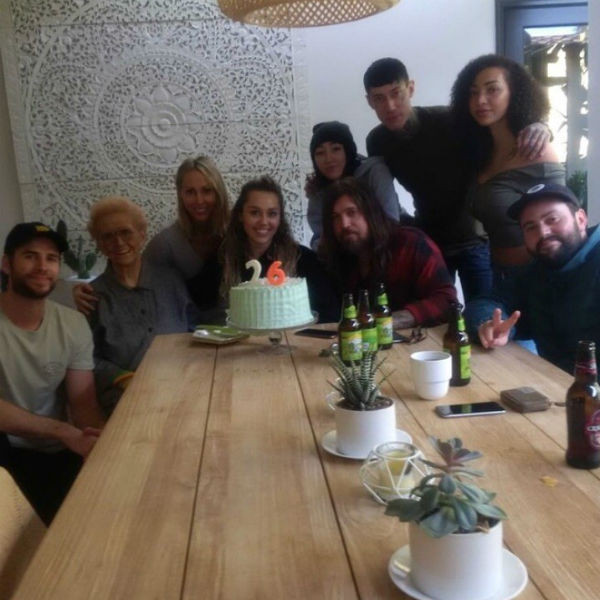 Liam Hemsworth, Miley Cyrus, Birthdays