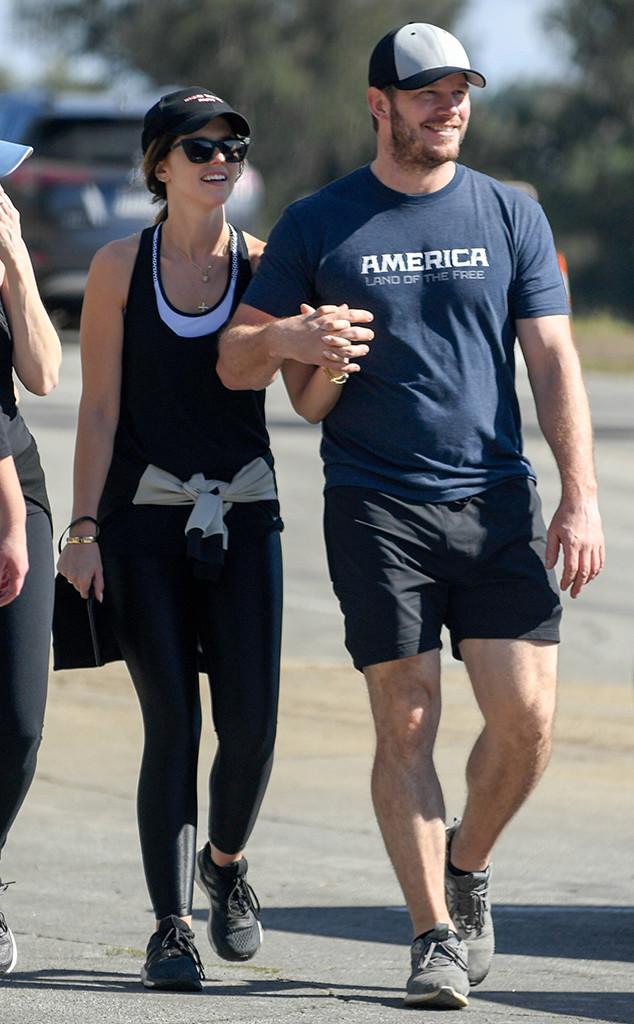 Chris Pratt, Katherine Schwarzenegger, Thanksgiving
