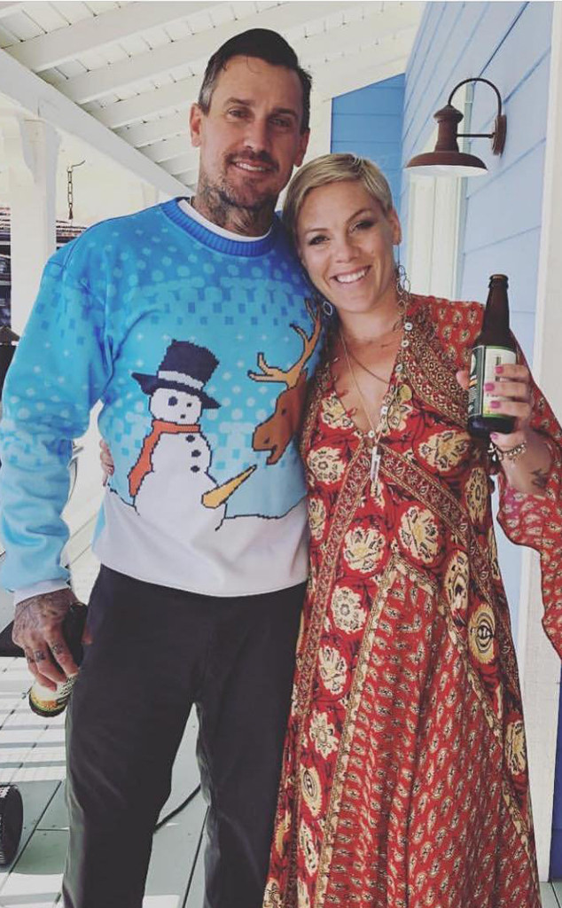 Pink, Carey Hart, Thanksgiving 2018