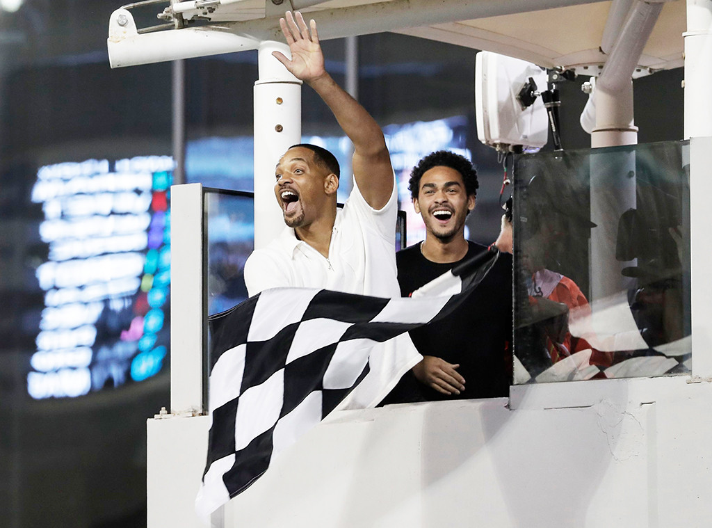 Will Smith, Trey Smith, Abu Dhabi Formula One Grand Prix 2018