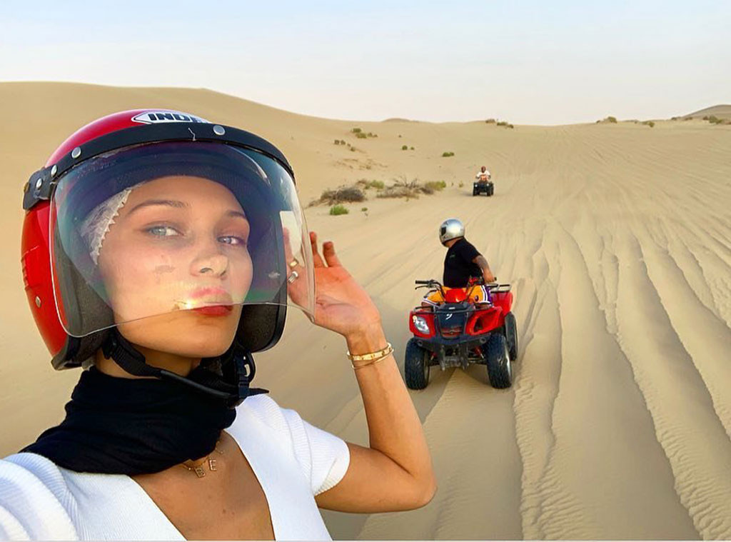 Bella Hadid, Dubai