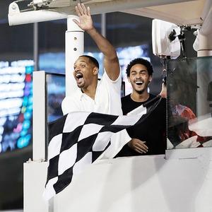 Will Smith, Trey Smith, Abu Dhabi Formula One Grand Prix 2018